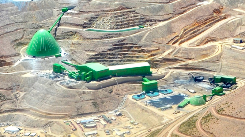 acuerdo sindical caserones operación minera